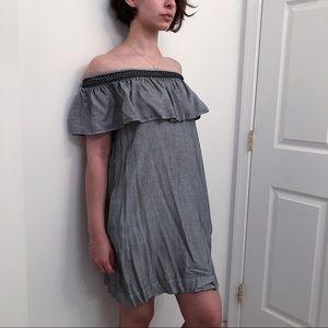 LOFT off-the-shoulder dress